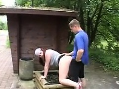 Horny Couple Having Sex Outside In Public