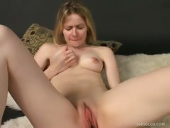 Blonde Uses Fuck Toys For Solo Playtime