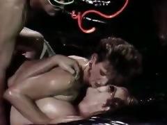 Hardcore double penetration from vintage porn