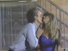 Joey Silvera bangs old school classic porn blonde