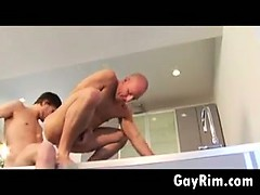 Thick Cock Up The Ass In The Kitchen