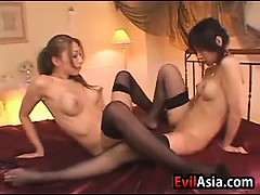 Sexy Japanese Lesbians