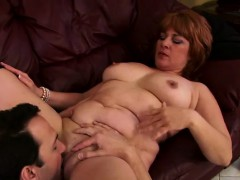 chubby redhead mature Denise