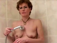 Granny Shaves Her Cock Hungry Snatch