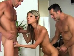 Gina Gerson Sucks Cock And Gets Fucked In The Ass